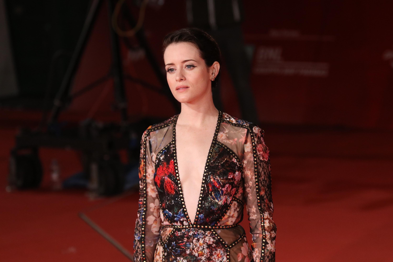 Roma 2018: uno scatto di Claire Foy sul red carpet di Millennium - Quello che non uccide