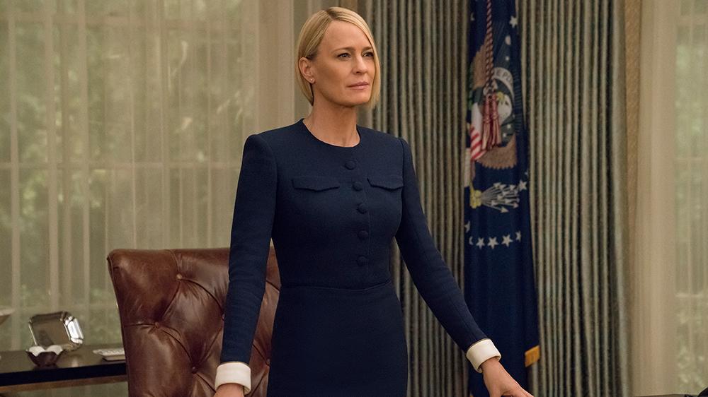 House of Cards: Robin Wright in un'immagine della sesta stagione