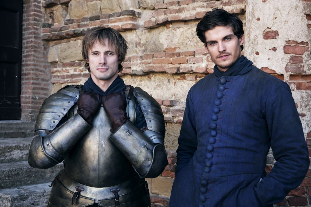 I Medici: Daniel Sharman e Bradley James sul set