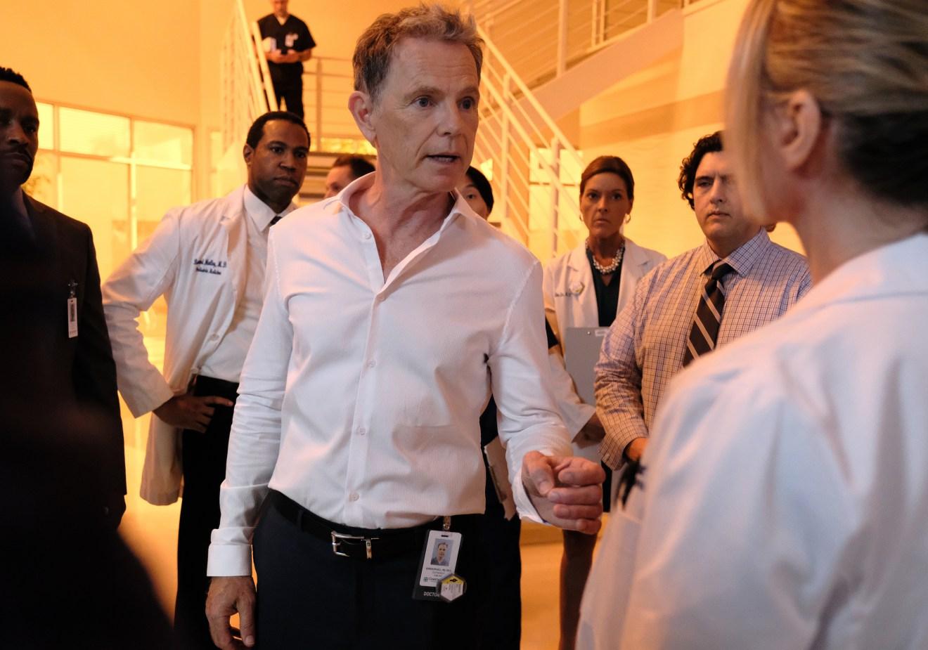 The Resident: Bruce Greenwood in una foto della seconda stagione