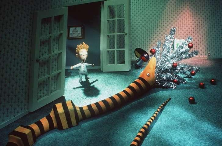 Nightmare Before Christmas, una scena del film