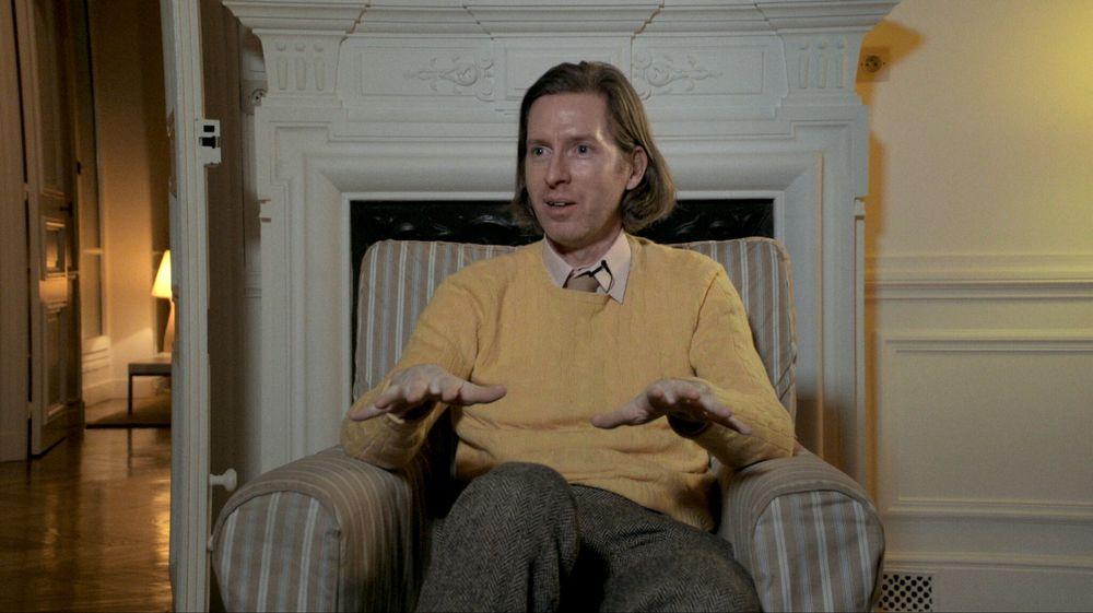 Friedkin Uncut - Un diavolo di regista: Wes Anderson in un'immagine del documentario