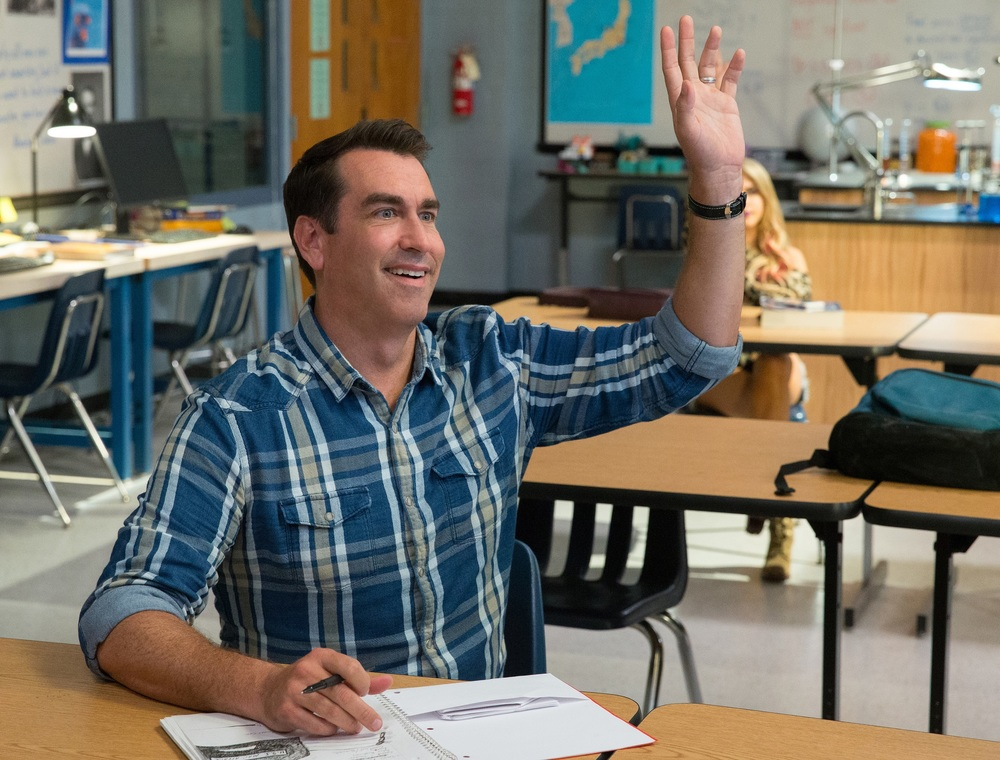 La scuola serale: Rob Riggle in una scena del film