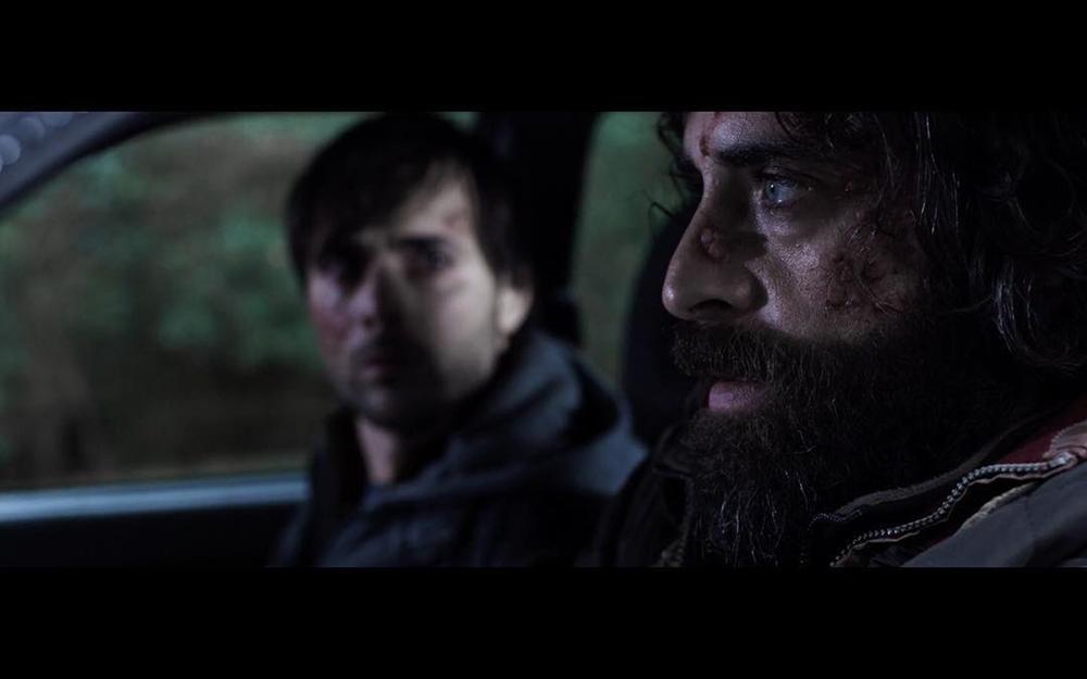 Malerba: Luca Guastini e Antonio De Matteo in una scena del film