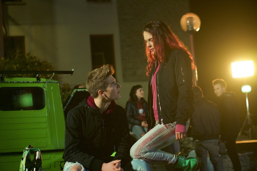 Zen sul ghiaccio sottile: Susanna Acchiardi in un momento del film