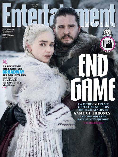 Il Trono di Spade: la copertina di EW dedicata all'ultima stagione