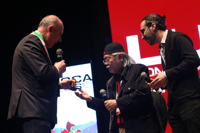 Lucca 2018: Leiji Matsumoto riceve in premio come gran maestro del fumetto