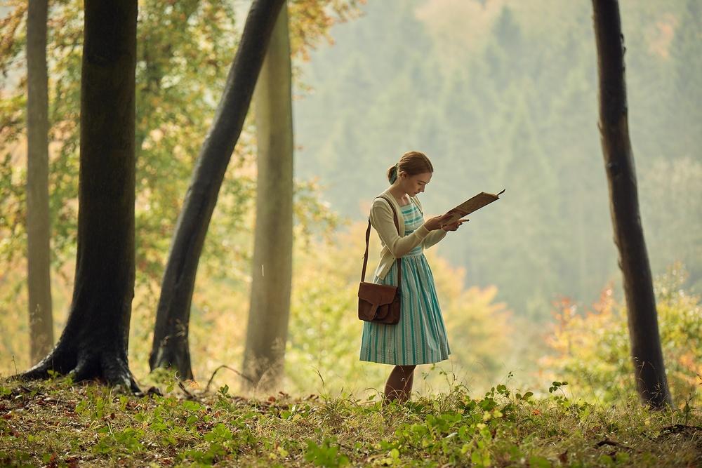 Chesil Beach - Il segreto di una notte: Saoirse Ronan in un'immagine del film