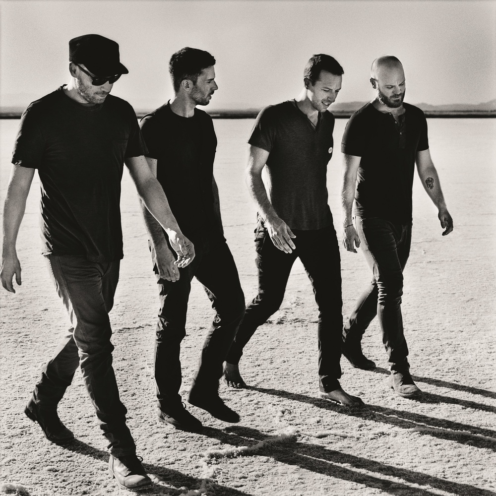 Coldplay: A Head Full of Dreams: i Coldplay in un'immagine promozionale