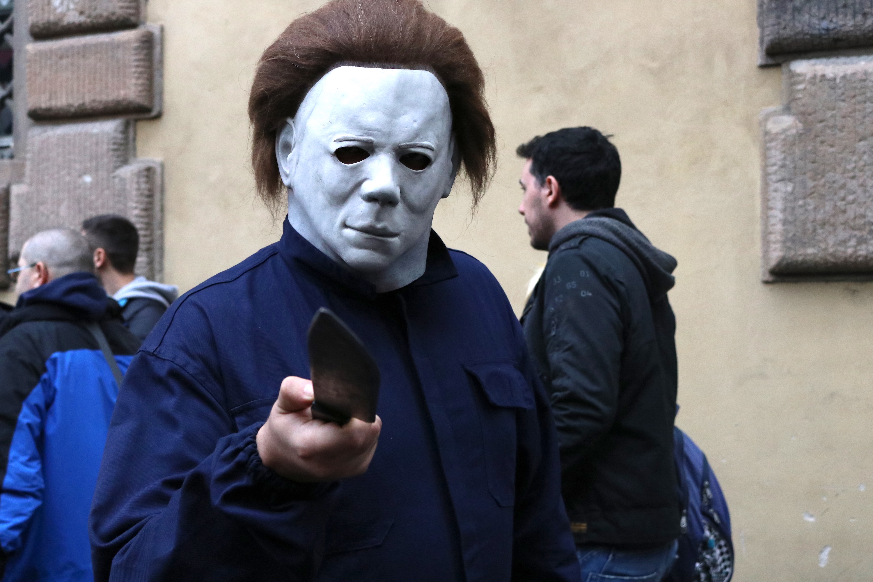 Lucca 2018: cosplay di Michael Myers