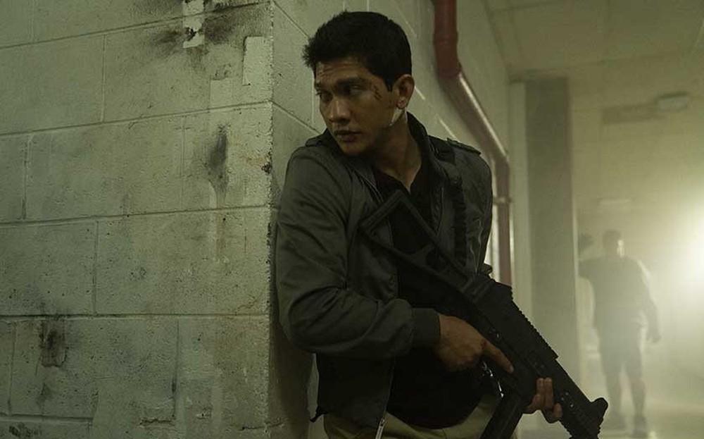 Red Zone - 22 miglia di fuoco: Iko Uwais in una scena del film