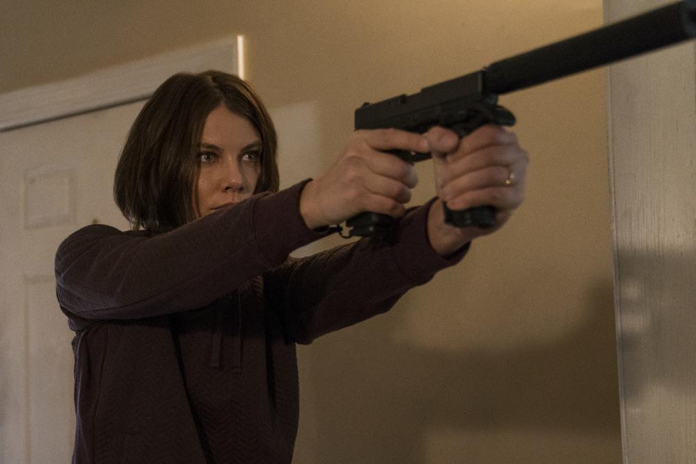 Red Zone - 22 miglia di fuoco: Lauren Cohan in una scena del film