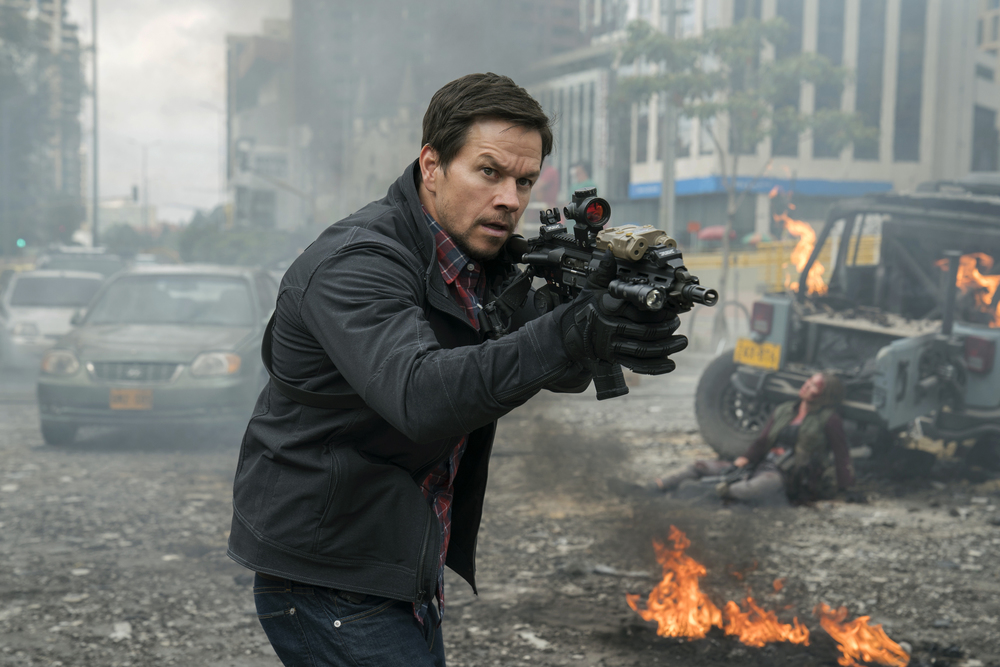 Red Zone - 22 miglia di fuoco: Mark Wahlberg in una scena del film