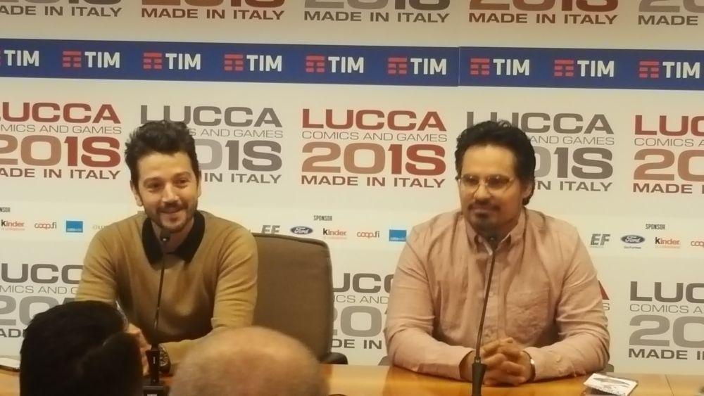 Narcos: Messico, Michael Pena e Diego Luna in conferenza a Lucca Comics & Games