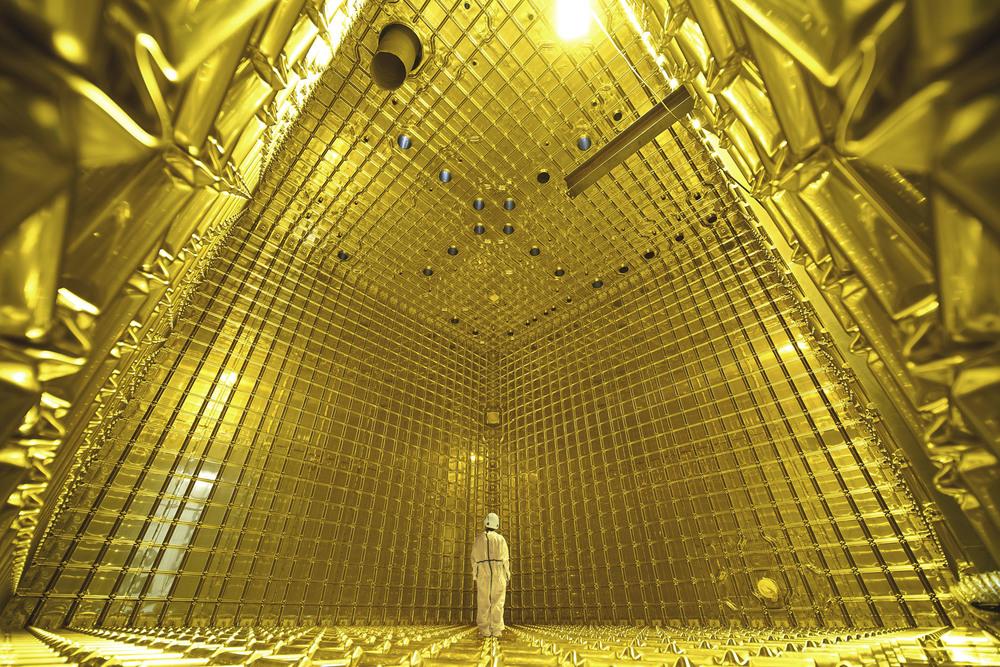 Almost Nothing - CERN: La scoperta del futuro, una suggestiva immagine del documentario