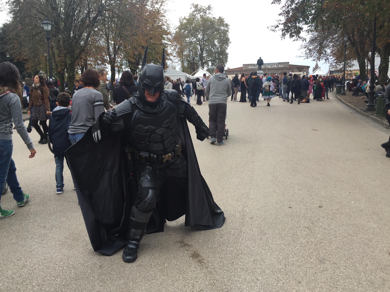 Lucca 2018: cosplay di Batman