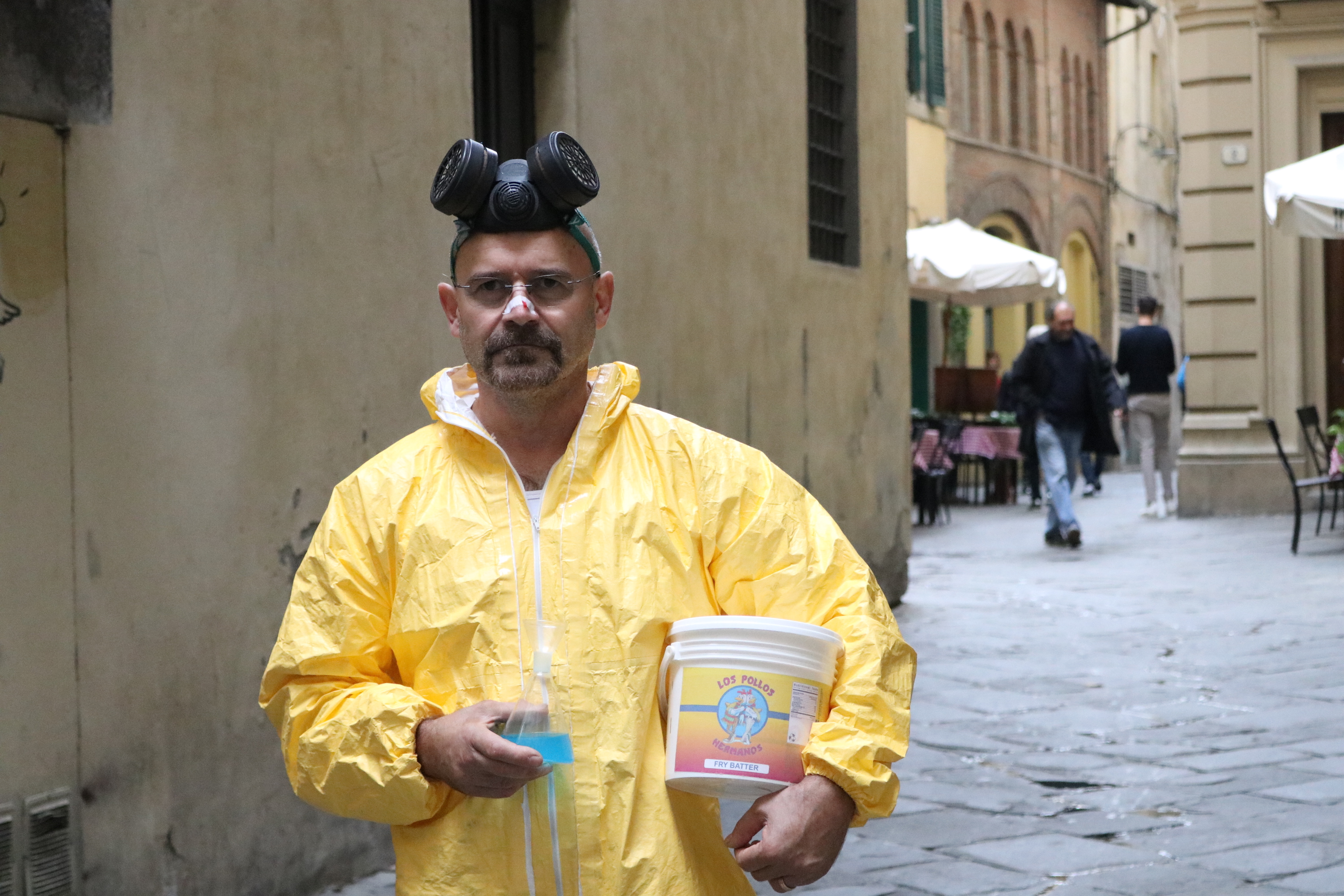 Lucca 2018: cosplay di Walter White
