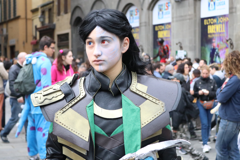 Lucca 2018: Cosplay di Loki
