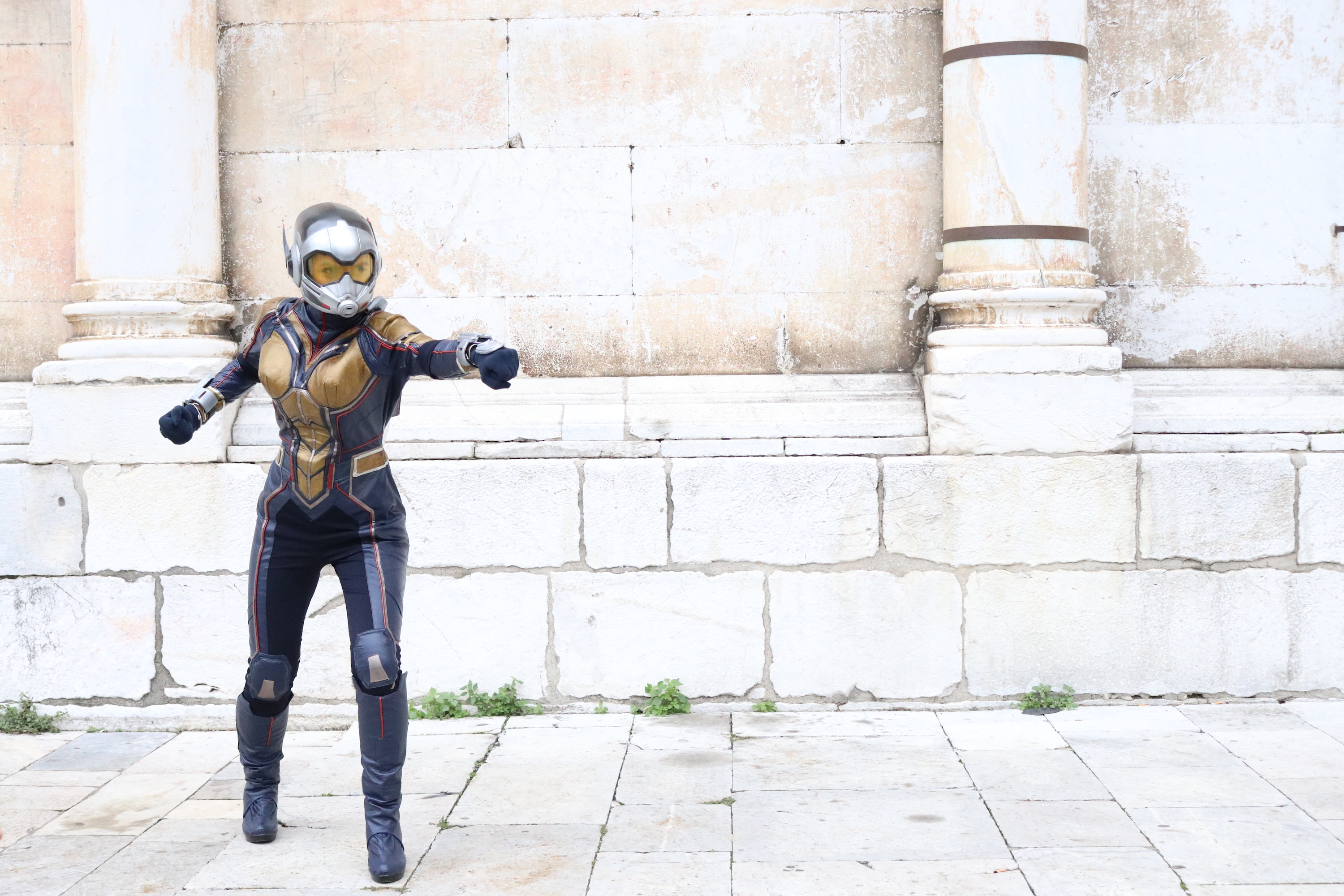 Lucca 2018: bellissimo cosplay di The Wasp