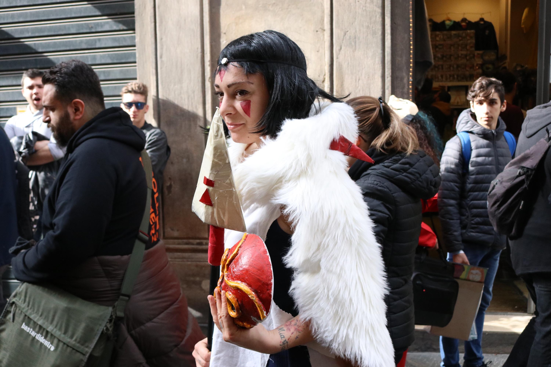 Lucca 2018: cosplay di Princess Mononoke