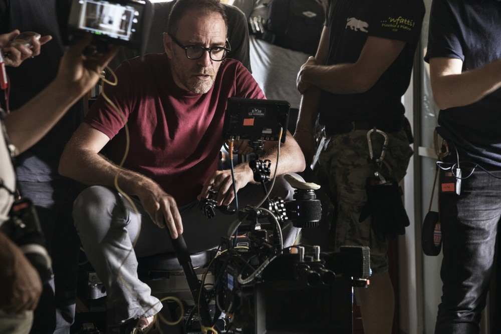 Ride: Valerio Mastandrea sul set del film