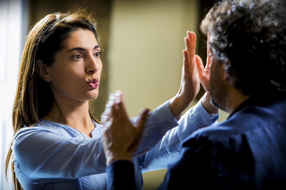 Se son rose: Caterina Murino e Leonardo Pieraccioni in un'immagine del film