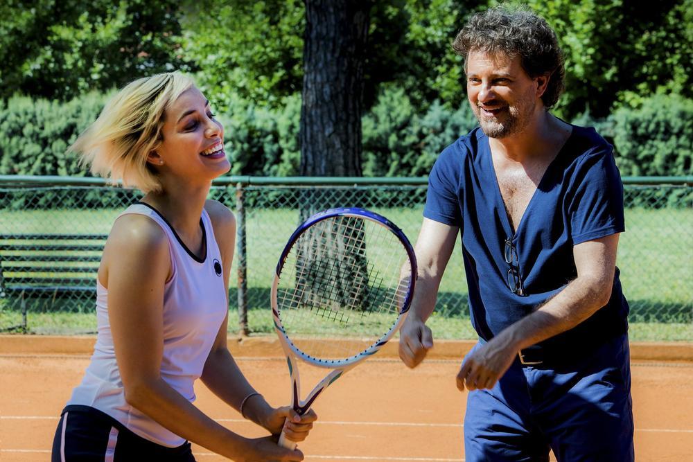 Se son rose: Leonardo Pieraccioni con Elena Cucci in un'immagine del film