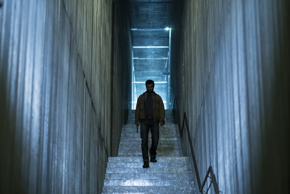Upgrade: Logan Marshall-Green in un'immagine tratta dal film