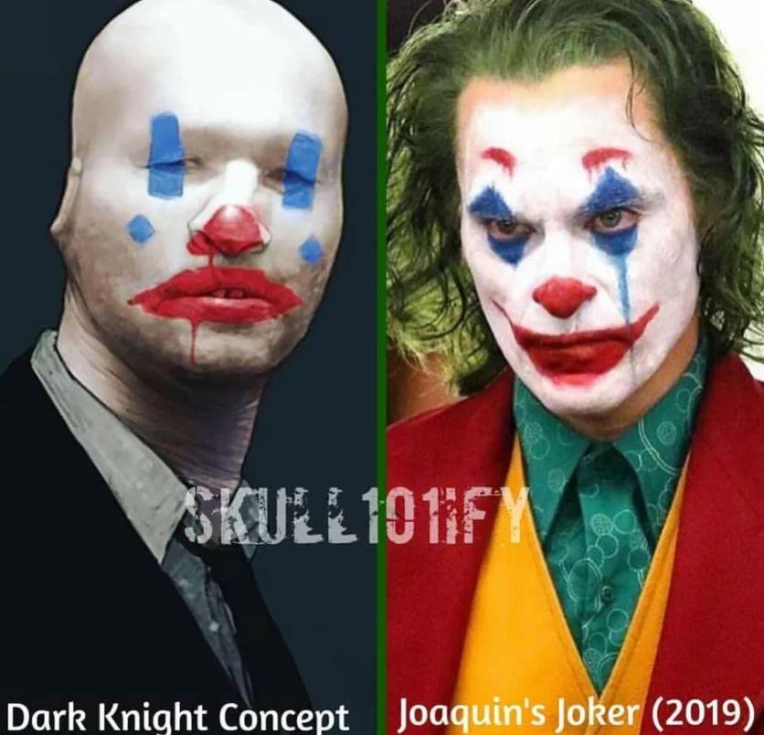 Joker: l'origine del trucco del villain
