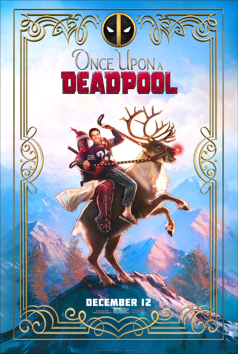 Once Upon a Deadpool: il poster del film