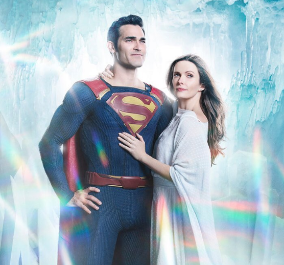 Arrowverse: Superman e Lois Lane in una foto di Elseworlds