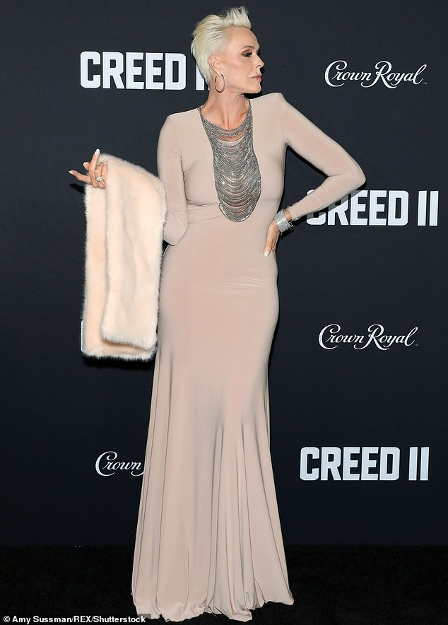 Creed II, Brigitte Nielsen alla premiere di NYC 2