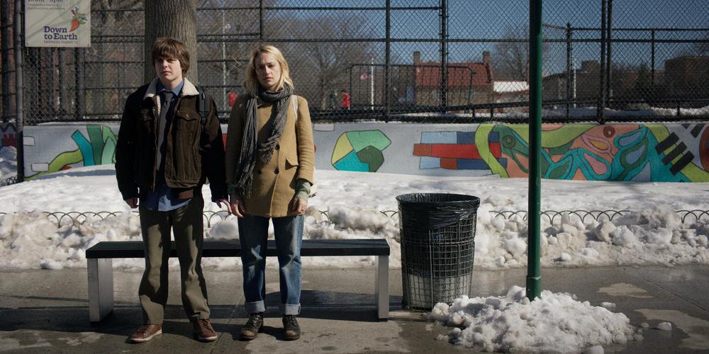 All These Small Moments: Jemima Kirke e Brendan Meyer in una scena del film