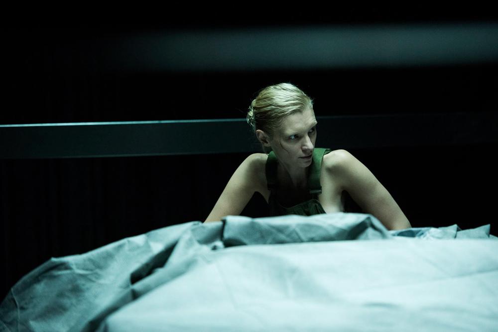 High Life: Agata Buzek in una scena del film