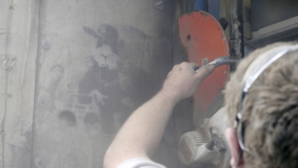 L'uomo che rubò Banksy: un momento del documentario