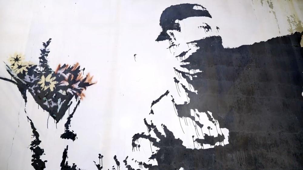 L'uomo che rubò Banksy: un'immagine tratta dal documentario