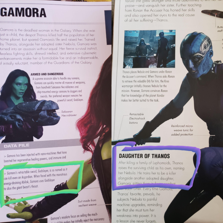 Avengers: Infinity War, svelato il potere della spada di Gamora