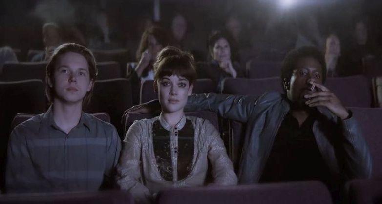 Pretenders: Jane Levy, Jack Kilmer e Shameik Moore in una scena del film