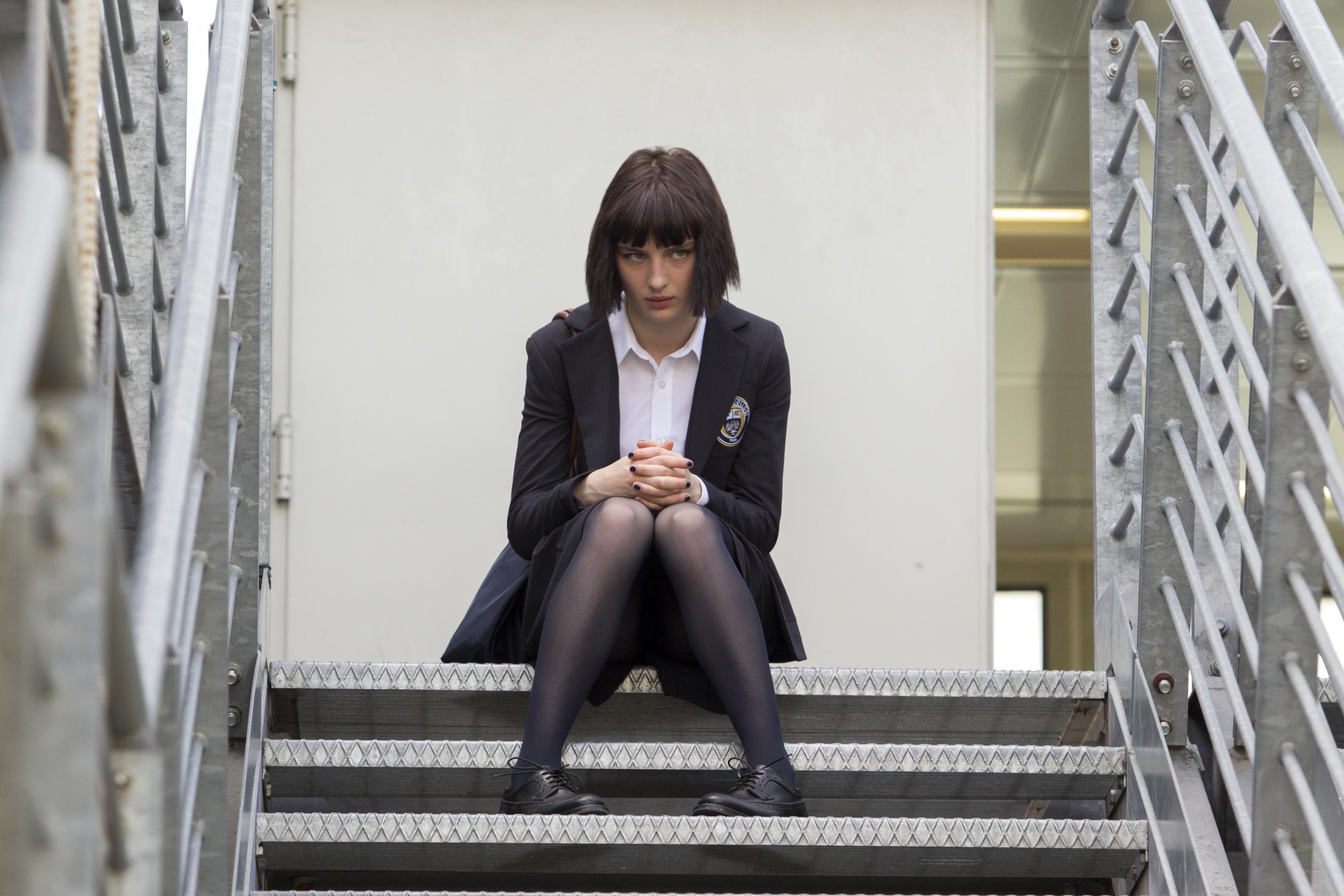Baby: Alice Pagani in una scena della serie Netflix