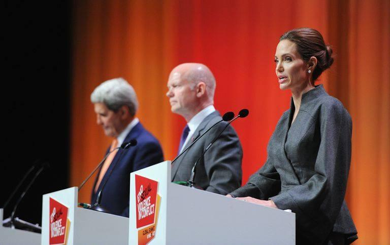 Angelina Jolie a Londra nel 2018
