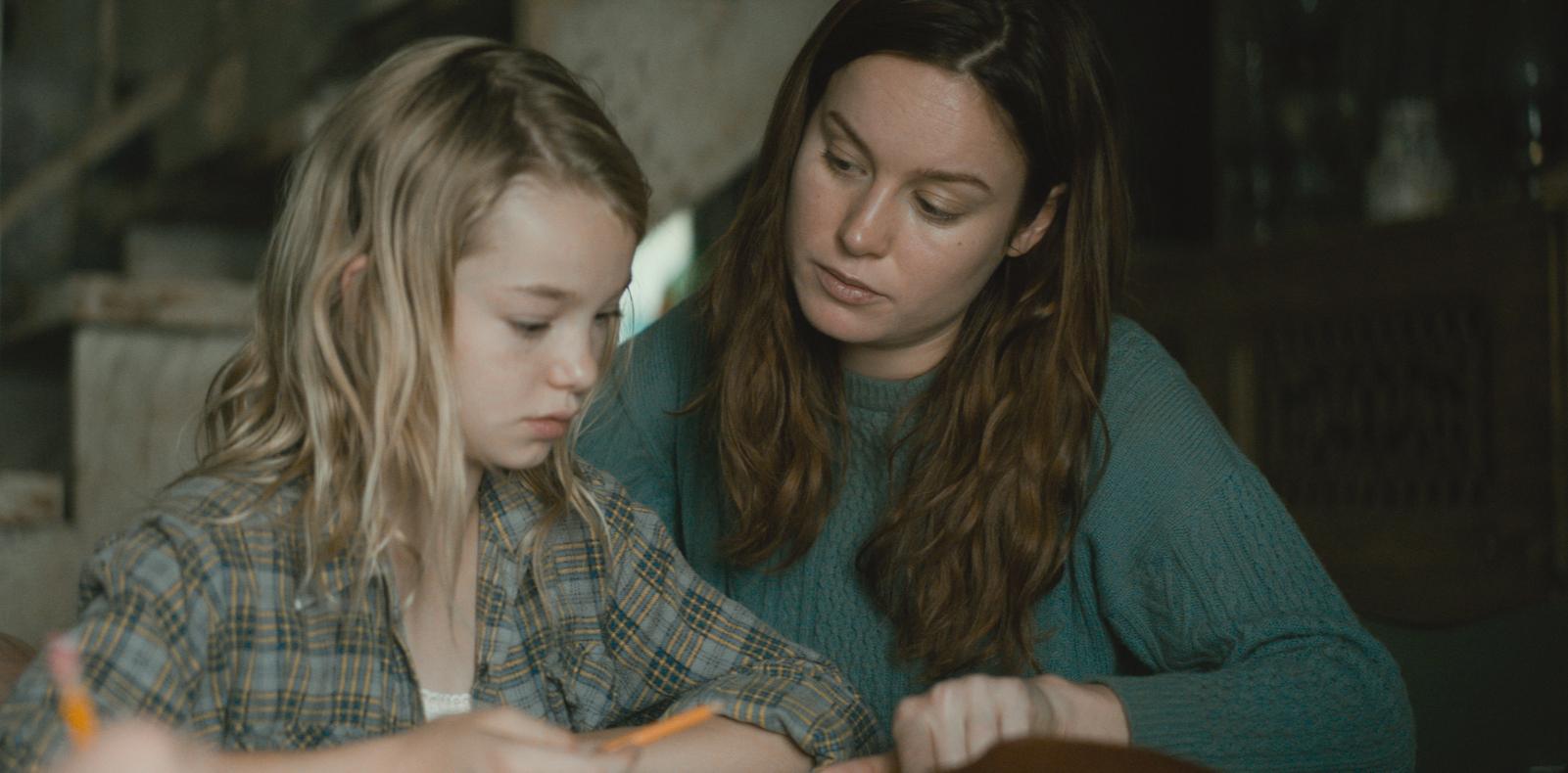 Il castello di vetro: Brie Larson, Shree Crooks in una scena