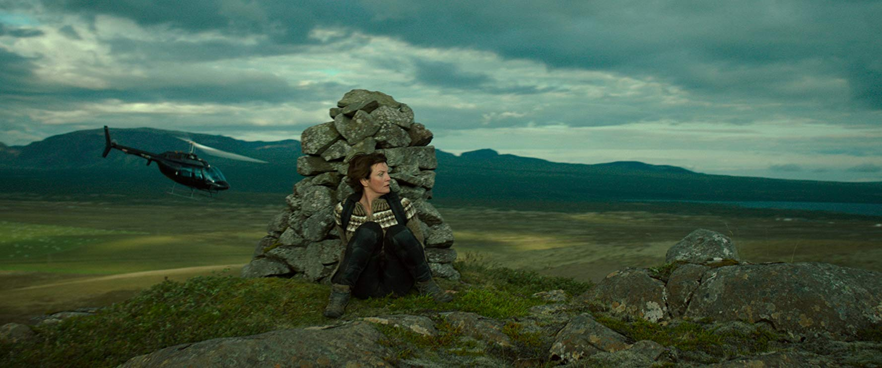 La donna elettrica: Halldóra Geirharðsdóttir in una scena