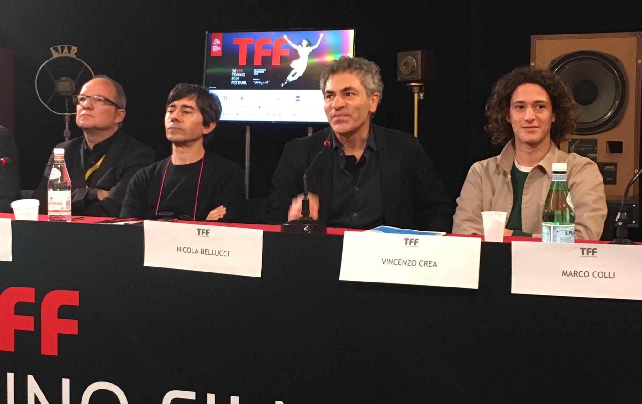 Il mangiatore di pietre: il cast alla conferenza di Torino 2018