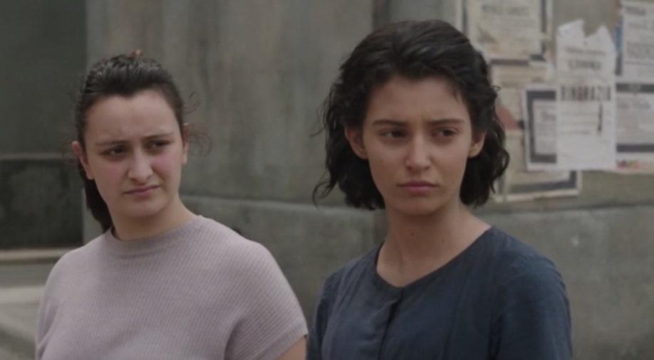 L'amica Geniale: una scena dell'episodio Le Metamorfosi, con Gaia Girace