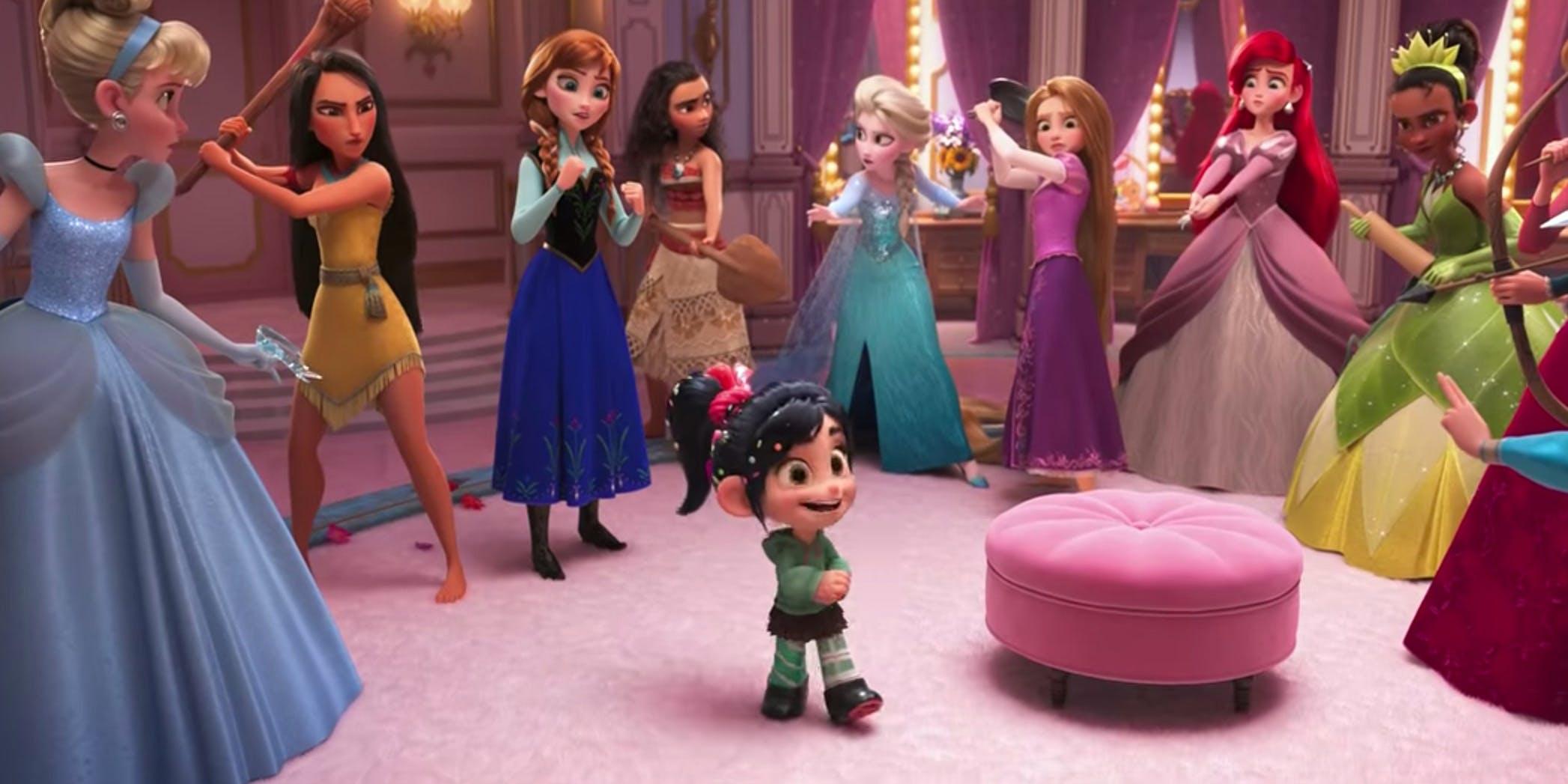 Ralph Spacca Internet: Vanellope e le principesse Disney