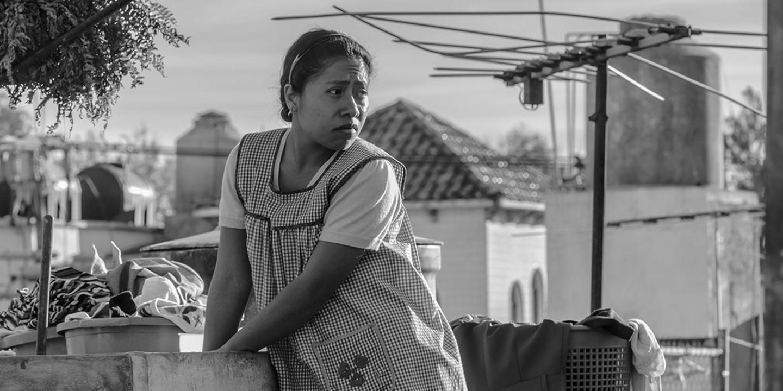 Roma: Yalitza Aparicio in una scena del film
