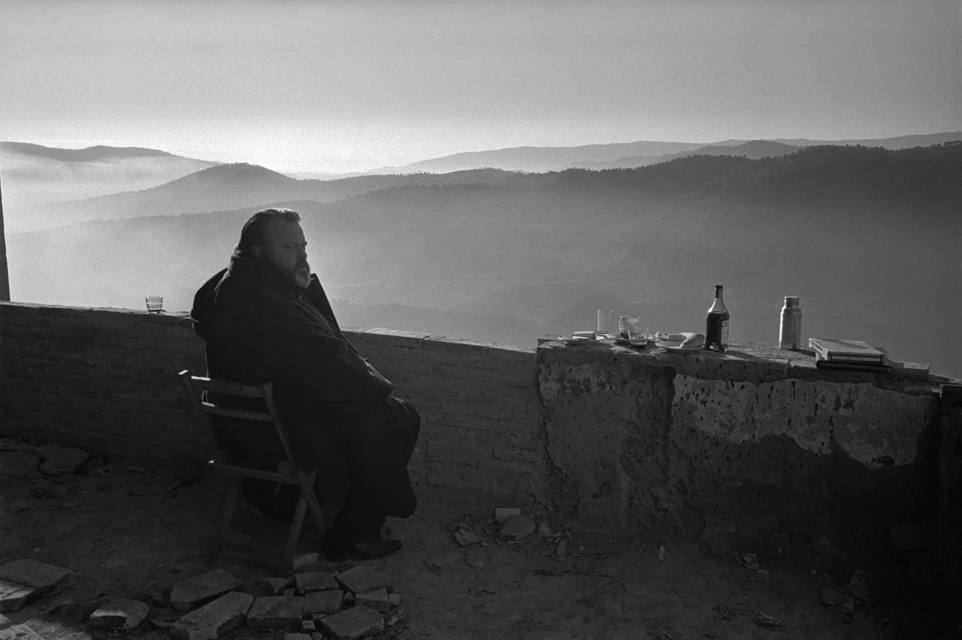 Lo Sguardo di Orson Welles: un momento del documentario