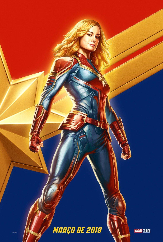 Captain Marvel: un nuovo poster del film Marvel