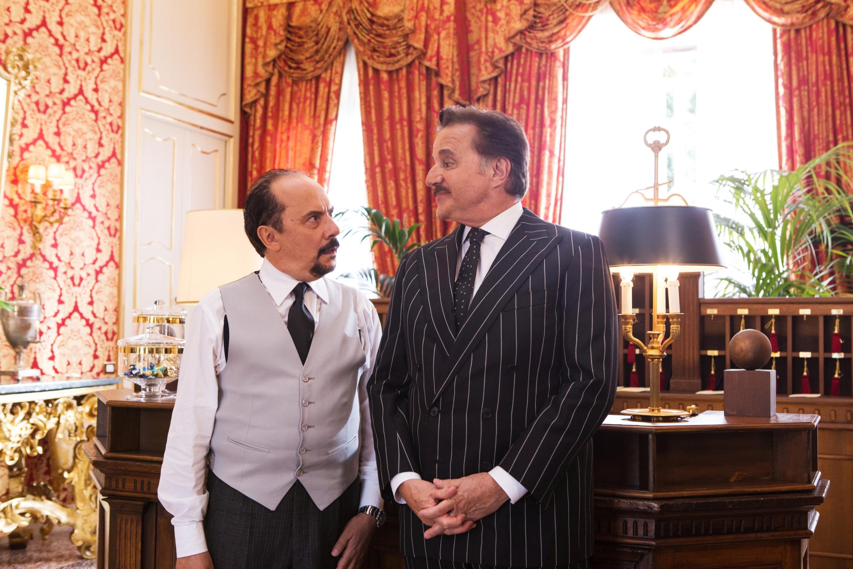 Amici come prima:  Christian De Sica in un momento del film