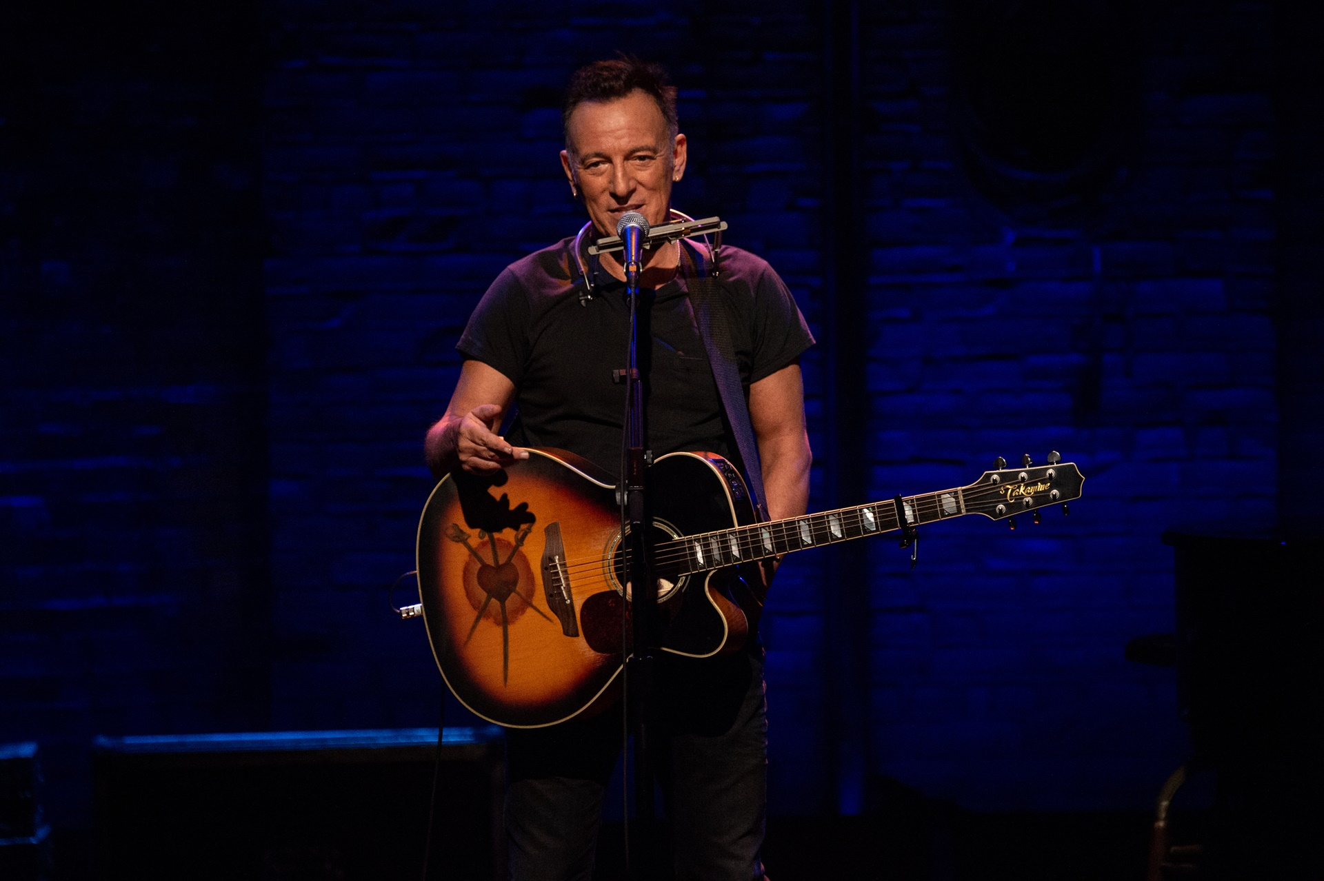 Springsteen on Broadway: Bruce Springsteen sul palcoscenico